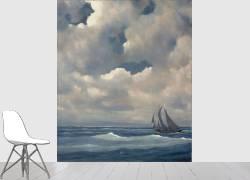 Barque dans l'orage (La Farge Bancel) - Muzeo.com