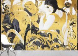 Femmes de l'Est (Odalisque) (August Macke) - Muzeo.com