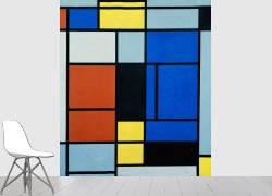 Tableau N°1 (Piet Mondrian) - Muzeo.com