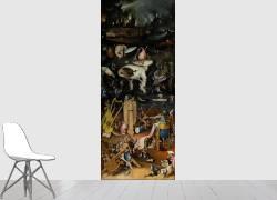 Le jardin des Délices (panneau droite) (Jérôme Bosch) - Muzeo.com