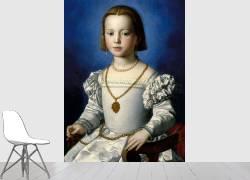 Portrait de Bia de Médicis (1537-1542) (Bronzino (dit), Allori Agnolo...) - Muzeo.com