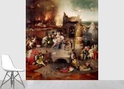 Triptyque de la Tentation (Bosch Jérôme (dit), van...) - Muzeo.com