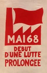 Mai 68 début d''une lutte prolongée (anonyme) - Muzeo.com
