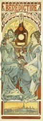 Bénédictine (Alfons Mucha) - Muzeo.com