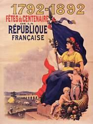 1792 -1892 Fêtes du Centenaire de la République française (Anonyme) - Muzeo.com