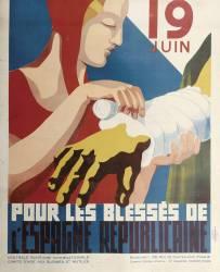 19 juin - Pour les blessés de l'Espagne républicaine (Anonyme) - Muzeo.com