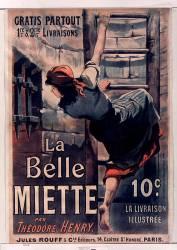 La Belle Miette par Théodore Henry... éd. Jules Rouff et Cie (Anonyme) - Muzeo.com