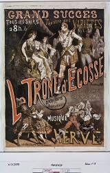 Le Trône d'Ecosse, Opéra-bouffe en 3 actes et 4 tableaux (Anonyme) - Muzeo.com