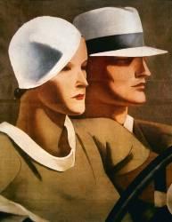 Publicité pour le créateur de chapeau italien Borsalino en 1929 (anonyme) - Muzeo.com