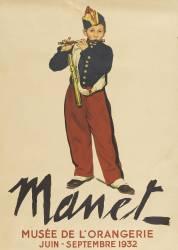Affiche : Manet (anonyme) - Muzeo.com