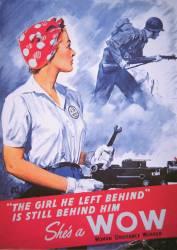 Affiche de la Seconde Guerre Mondiale :