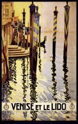 Affiche de voyage pour Venise (Vittorio Grassi) - Muzeo.com