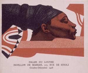 Affiche pour l'exposition la Croisière Noire au Louvre octobre-décembre 1926 (anonyme) - Muzeo.com