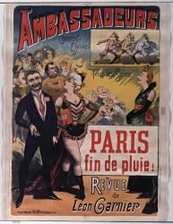 Ambassadeurs. Tous les soirs : Paris, fin de pluie ! (Anonyme) - Muzeo.com