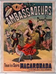 Ambassadeurs. Tous les soirs Macaronada (Anonyme) - Muzeo.com