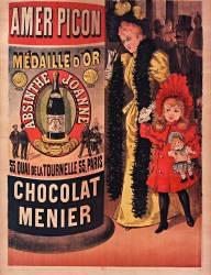 Amer Picon / Absinthe Joanne / Cholocat Menier (Anonyme) - Muzeo.com
