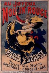 Au Joyeux Moulin rouge. Paris qui danse (Anonyme) - Muzeo.com