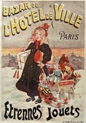 Bazar de l'Hôtel de ville, Paris étrennes, jouets (Ogé Eugène) - Muzeo.com