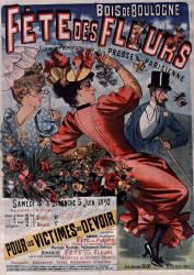 Bois de Boulogne - Fête des fleurs... (Anonyme) - Muzeo.com