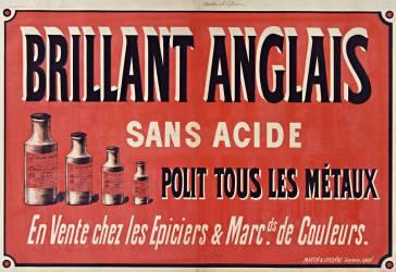 Brillant anglais, sans acide, polit tous les métaux (Anonyme) - Muzeo.com