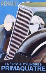 Brochure publicitaire pour la Renault Primaquatre (anonyme) - Muzeo.com