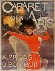Cabaret des Arts. X. Privas, D. Bonnaud (Anonyme) - Muzeo.com
