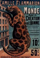 Camille Flammarion Le Monde avant la création de l'homme oeuvre de Zimmermann revue et complétée (Anonyme) - Muzeo.com