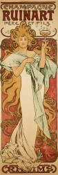 Champagne Ruinart (Alfons Mucha) - Muzeo.com