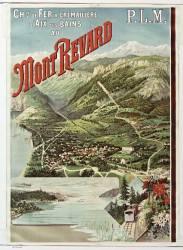 Chemin de fer à crémaillère d'Aix les Bains au Mont Revard, P. L. M. (Anonyme) - Muzeo.com