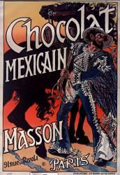 Chocolat mexicain Masson (Eugène Grasset) - Muzeo.com