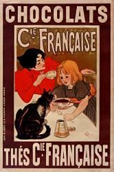 Chocolats et thés Compagnie française (Steinlen Théophile Alexandre) - Muzeo.com