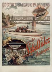 Cie Gle des bateaux parisiens. Les libellules électriques (Hugo d'Alési F.) - Muzeo.com