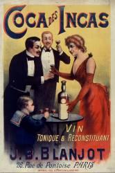 Coca des Incas vin tonique et reconstituant J.-B. Blanjot... (Anonyme) - Muzeo.com