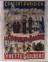 Concert parisien... Le couvert du diable. Tous les soirs Yvette Guilbert (Anonyme) - Muzeo.com