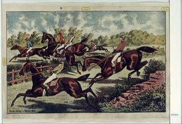 [Course de chevaux] (Anonyme) - Muzeo.com