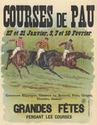 Courses de Pau, grandes fêtes pendant les courses (Anonyme) - Muzeo.com