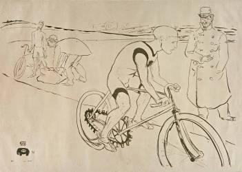 Cycle Michael (Toulouse-Lautrec Henri de) - Muzeo.com