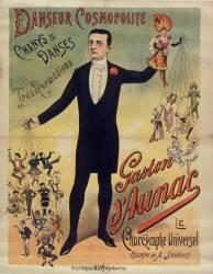 Danseur cosmopolite Gaston d'Aunac (Anonyme) - Muzeo.com