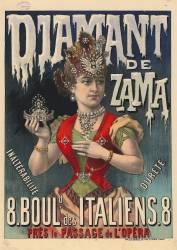 Diamant de Zama, inaltérable dureté (Anonyme) - Muzeo.com