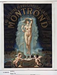 Eau alcaline ferrugineuse & gazeuse de Montrond... (Anonyme) - Muzeo.com