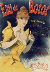 Eau de Botot, seul dentifrice (Chéret Jules) - Muzeo.com
