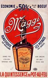 Economie 50% sur le boeuf, le Maggi rend exquis les bouillons... (anonyme) - Muzeo.com