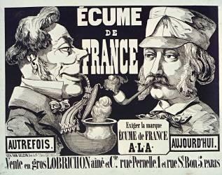 Ecume de France : exiger la marque Ecume de France..., vente en gros Lobrichon ainé & cie, rue Pernelle, 1 et rue St Bon, 5, Paris (Anonyme) - Muzeo.com