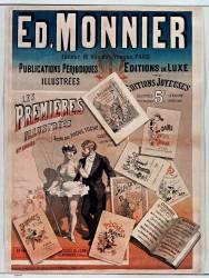 Ed. Monnier, Editeur... Paris. Les Premières Illustrées, 4me année... (Anonyme) - Muzeo.com