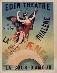 Eden Théatre... La Phalène [ballet]. Miss Aenea. La Cour d'amour [ballet] (Anonyme) - Muzeo.com