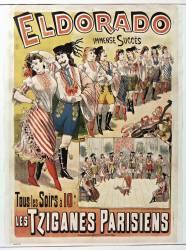 Eldorado : immenses succès... Les Tziganes parisiens (Anonyme) - Muzeo.com