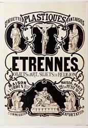 Etrennes, objets d'art, sujets de religion... (Anonyme) - Muzeo.com