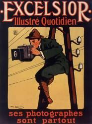Excelsior illustré quotidien. Ses photographes sont partout... (Daniel de Losques) - Muzeo.com