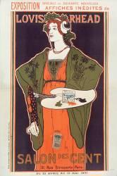 Exposition spéciale de soixante nouvelles affiches inédites de Louis Rhead. Salon des Cent... (Rhead Louis) - Muzeo.com