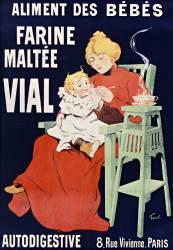 Farine maltée Vial, l'aliment des bébés (Fernel Fernand) - Muzeo.com